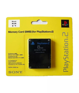 Tarjeta De Memoria Memory Card 8 Mb Ps2 Sony Playstation 2
