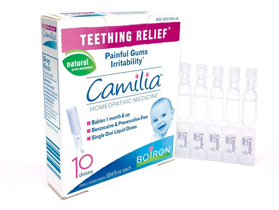 Alívio Primeiros Dentinhos Do Bebê C/ 10 - Camilia Da Boiron