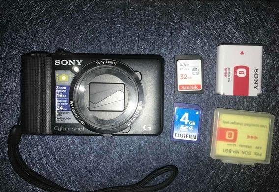 Câmera Digital Sony Cyber Shot Dsc Hx9v