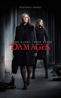 Série Damages - As 04 Primeiras Temporadas Completas