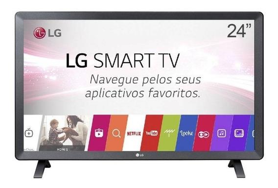 Tv Smart Monitor Lg 24tl520s Hd Hdmi 24 Wifi Nf Gar 1 Ano