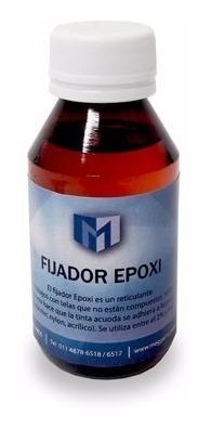 Fijador Textil Epoxi X 100 Cm3 No Requiere Calor Mercado Libre