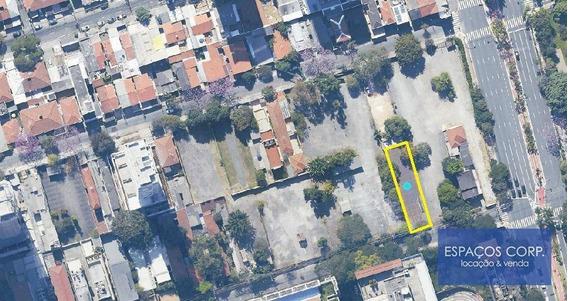 Terreno Para Venda Ou Locação, 420m² - Vila Olímpia - São Paulo/sp - Te0041