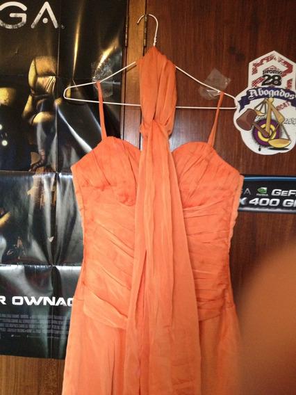 Vestido + Elegante + Fiesta + Naranja Tipo Corset Moda Dama