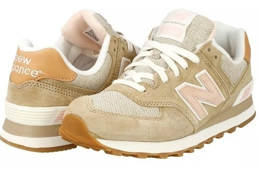 Tenis Zapatilla New Balance Marron Original Dama 50% Descuen