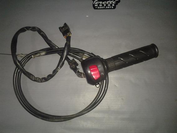 Punho Luz Direito Suzuki Gs 500 2004 Completo
