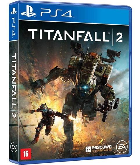 Jogo Titanfall 2 Ps4 Midia Fisica Original Novo Dublado Br