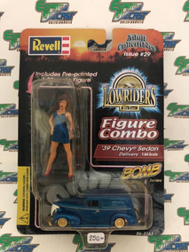 1939 Chevy Sedan Delivery Figure Combo Lowriders Revell