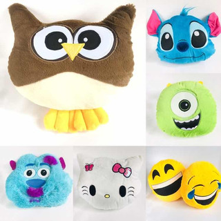 Peluches Mayoreo Cojines 12 Pzas Emoticos Lote