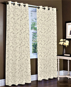 Cortina Blackout Estampado Corta Luz Pvc 2,80 X 1,80