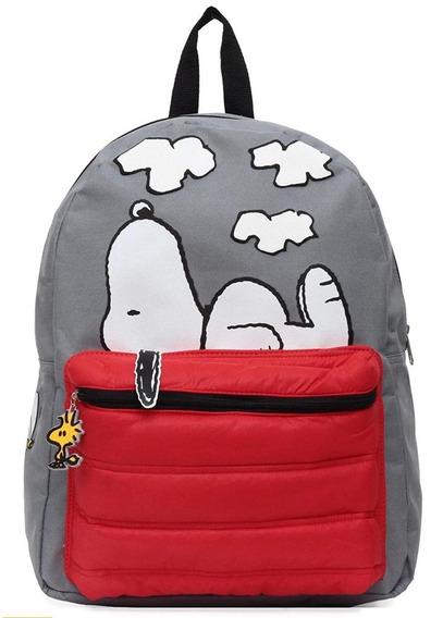 Mochila Snoopy Peanuts Original + Envio Gratis