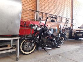 2008 Harley Davidson Softail Deluxe Flstn