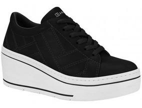Tênis Ramarim Sneaker Plataforma 1970104 Feminino Preto