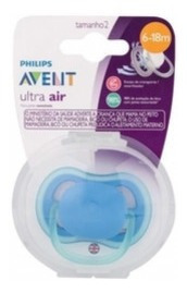 Chupeta Ultra Air Unit. Lisa 6-18m Menin0