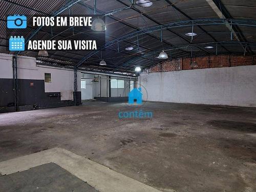 Galpão Para Alugar, 300 M² Por R$ 12.000,00/mês - Vila Da Saúde - São Paulo/sp - Ga0053