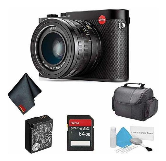 Camara Leica Q 24.2 Megapixel Compact Digital Black Ano 3516