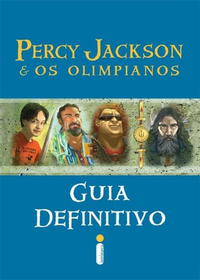 Livro Guia Definitivo Percy Jackson E Os Olimpianos