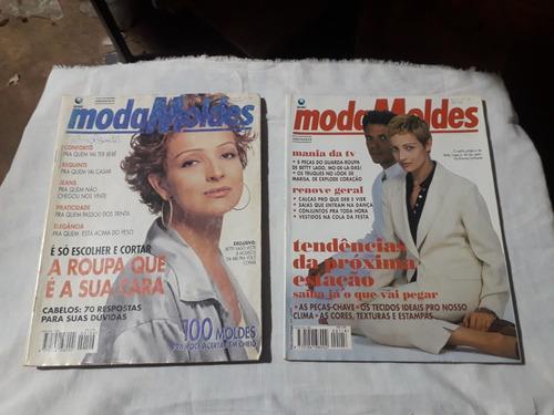Imagem 1 de 1 de Moda Moldes Betty  Lago - 2 Revistas Por