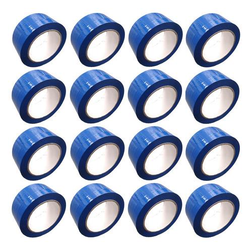 E Cinta Azul Adhesiva X 16 Unidades