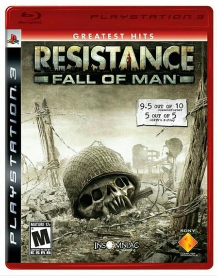 Resistance Fall Of Man - Jogo P/ Ps3 Original - Midia Fisica