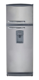 Heladera Bambi 2F1600D plata con freezer 328L 220V