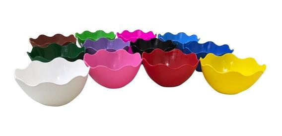 20 Cumbuca De Plástico Para Sobremesa - Tigela - 300 Ml
