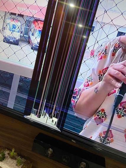 Tv65 Tcl Tela Quebrada