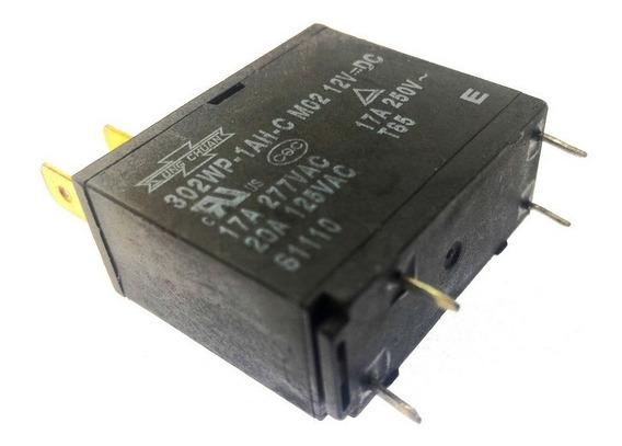 Kit 10 Pç Rele P/ Microondas 12v 17amp 302wp-1ah-c M07= M02