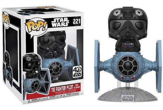 Funko Pop Star Wars Tie Fighter Pilot W/ Tie Fighter Ex