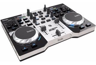 Consola Hercules Dj Instinct Musica + Placa De Sonido