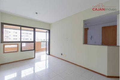 Apartamento De Alto Padrão Com 1 Dormitório E Vaga De Garagem No Bairro Petrópolis - Ap3991