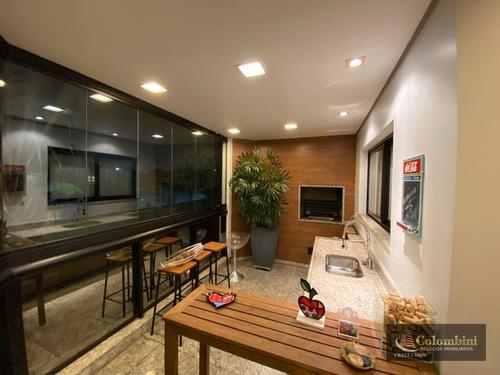 Imagem 1 de 18 de Apartamento Com 3 Dormitórios À Venda, 220 M² - Jardim São Caetano - São Caetano Do Sul/sp - Ap1317