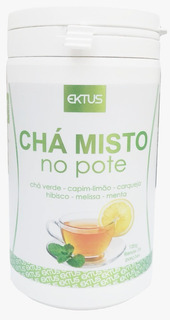 Chá Misto No Pote Ektus - Auxilia No Emagrecimento