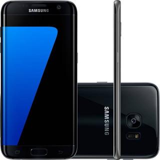 Samsung Galaxy S7 Edge G935 32gb Single 12mp Preto Vitrine 1