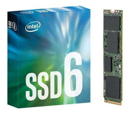 Ssd Intel Serie 660p 1024gb 1tb M.2 80mm, Pcie 3.0 X4, 3d2,