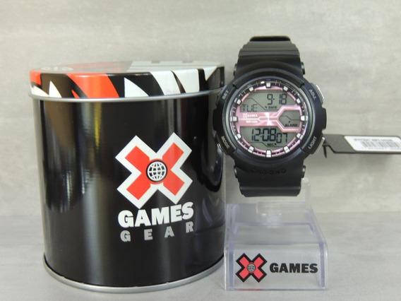 Relógio Feminino Digital X Games Mod: Xfppd047 Bxpx - Nota Fiscal E Garantia Oficial Orient