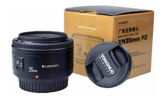 Lente Yongnuo Yn35mm F/2 - 35mm F/2 Autofoco P/ Canon