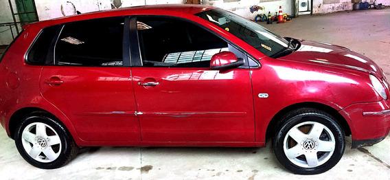 Volkswagen Polo Motor 2.0 2003 Vermelho 5 Portas