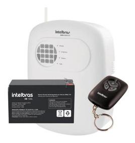 Central Alarme Intelbras Anm 3008 St 8 Zonas Com Bateria