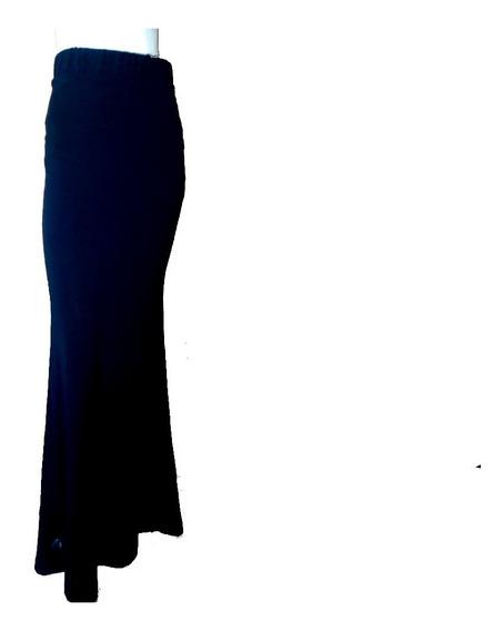 Maxifalda, Falda Larga Studio F Lycra Stretch Xs,s,m,l