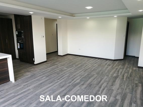 En Cumbaya, Departamento De 3 Habitaciones: Área Total 162m2
