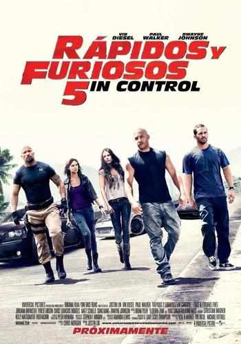 Poster: Rápidos Y Furiosos 5in Control (motivo 2 )