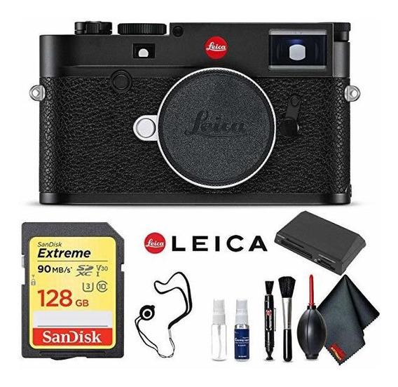 Camara Leica M10 Digital Rangefinder Black Professional Ki ®