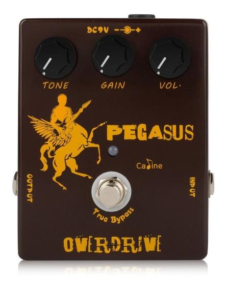 Pedal De Guitarra Caline Pegasus Overdrive + Nf + Garantia