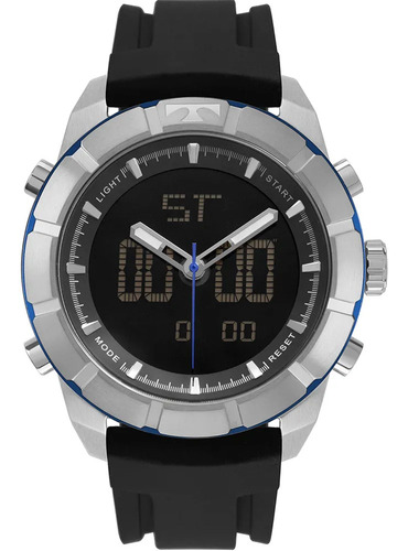 Relógio Masculino Technos Esportivo Bj3340ab/8p Garantia Nfe