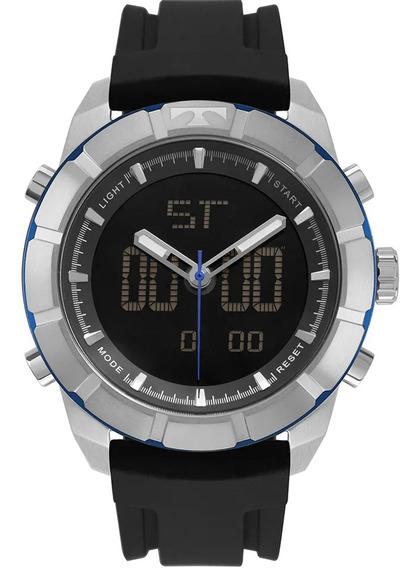 Relógio Technos Masculino Esportivo Bj3340ab/8p Nfe Original