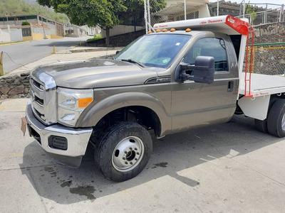 Ford Super Dutty 350 De Plataforma Con Aire Operativo