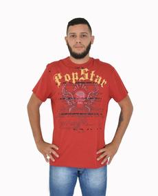 Camiseta Masculina Balada Estampada 1016