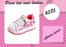 12df7e571 Zapatilla Pups Infantiles Ninos Ninas - Zapatillas en Mercado Libre ...