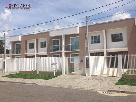 Araucária - Sobrado Residencial À Venda, Tindiquera, Araucária. - So0001